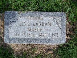 Elsie Lanham Mason