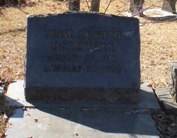 Jesse Japheth McKeithen