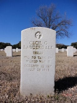 Cecil G Lauderdale