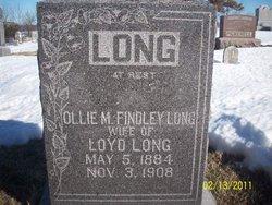 Ollie Maude <i>Findley</i> Long
