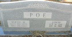 Alonzo Lonzo Poe