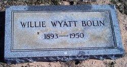 Willie Wyatt Bolin