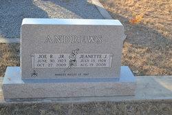 Joseph Richard Joe Andrews, Jr