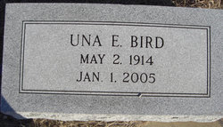 Una Ellen Johnnie <i>Hicks</i> Bird