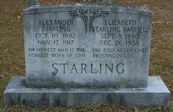 Elizabeth <i>Starling</i> Barfield