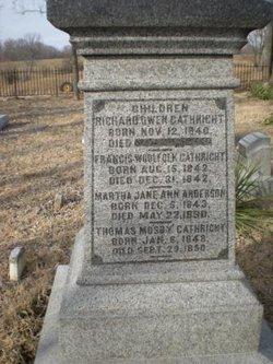 Martha Jane Ann <i>Gathright</i> Anderson