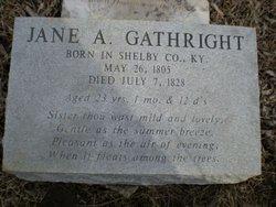 Jane Anna Gathright