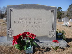 Blanche M Bauknight