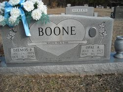 Delmos Paul Pete Boone, Sr