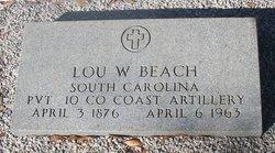 Louis Wilford Lou Beach