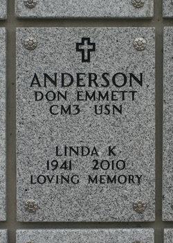 Linda K. <i>Wick</i> Anderson