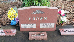Garnet May <i>Clark</i> Brown