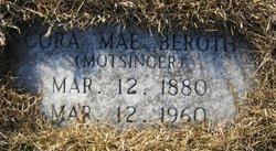 Cora Mae <i>Motsinger</i> Beroth