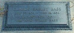 Claude Shelby Bass