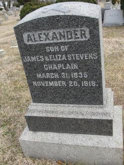 Alexander A Chaplain