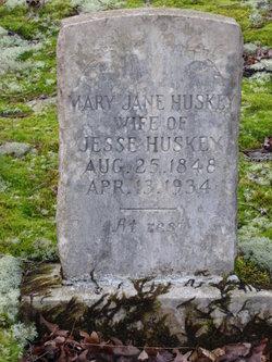 Mary Jane <i>McCarter</i> Huskey