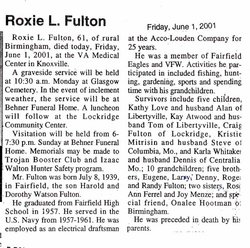 Roxie Fulton