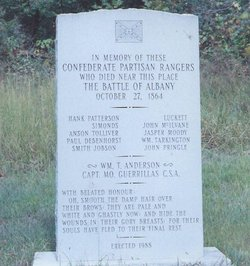 Battle of Albany Monument