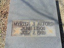 Myrtle <i>J.</i> Alford