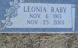 Leonia Belle Raby