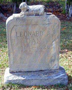 Leonard Gaile Adams