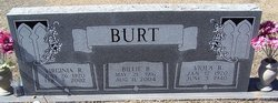 Mrs Viola B <i>Johnson</i> Burt