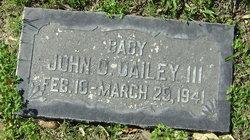 John D. Dailey, III