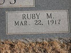 Ruby Marie <i>Isbell</i> Redus