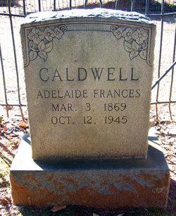 Adelaide Frances Caldwell