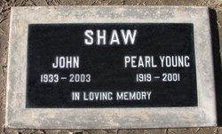 Fannie Pearl <i>Henry</i> Shaw