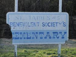 Saint James # 2 Benevolent Society's Cemetery
