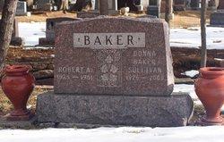 Sgt Robert A Baker