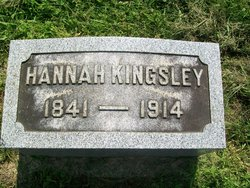 Hannah <i>Dewhurst</i> Kingsley