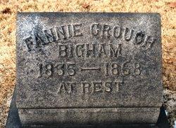 Fannie <i>Crouch</i> Bigham