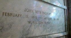 John Seth Radford, Sr