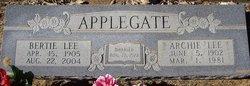 Archie Lee Applegate
