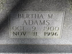 Bertha <i>Martin</i> Adams