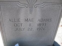 Allie Mae <i>Lewis</i> Adams