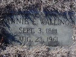 Annie Elizabeth <i>Austin</i> Walling