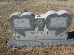 Eliza Jane Janie <i>Belcher</i> Moore
