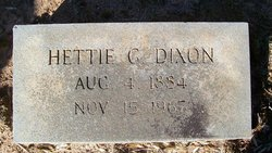 Hettie G. Dixon