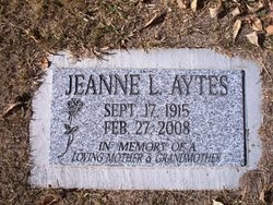 Mildred Jean <i>Doolittle</i> Aytes