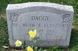 Ruth F <i>Fultz</i> Daggy