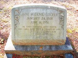 Jane Denie <i>McLaurin</i> Cooper