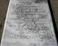 Mary Phelan <i>Watt</i> Goldthwaite