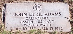 John Cyril Adams