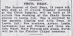 Cecil Dean