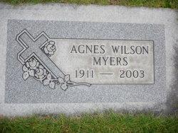Agnes <i>Wilson</i> Myers