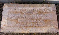 Harriet Chesnut <i>Taylor</i> Elmore