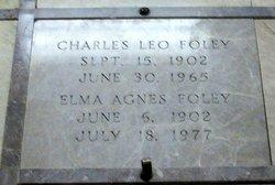 Elma Agnes <i>Gerald</i> Foley